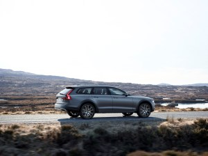 New Volvo V90 Cross Country Driving Matte
