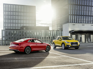 Euro NCAP test: five stars for the Audi A5 Coupe, Audi A5 Sportb