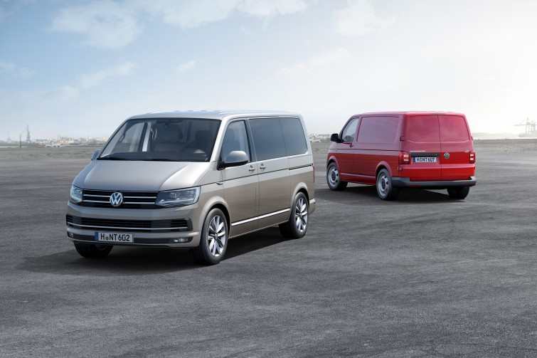 VW T6 van multivan